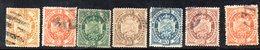 APR1818 - BOLIVIA 1894 , Serie Yvert N. 39/45 Usata - Bolivia