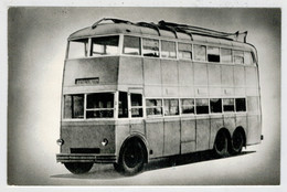 RUSSIA    AUTOBUS  A  2  PIANI  DEL  PASSATO       (1938-1939)      (NUOVA) - Autobus & Pullman