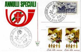 ITALIA - 1970 ASSISI (PG) Festa Della Mamma - Rosa - Muttertag