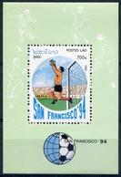 Laos 1992  BF 120 ; Block 143 **  MNH  Football World Cup 1994, USA (II) - Laos
