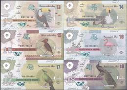 TWN - PACIFIC (private Issue) - 13-14-15-16-17-18 Pacific Dollars 2017 Set Of 6 UNC - Non Classificati