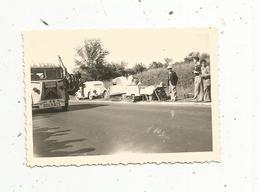 Photographie ,automobile,90 X 60 , CITROEN 2 CV ,  Tube, Assistance A.Dolhats , Course Bordeaux Paris,cyclisme - Automobile