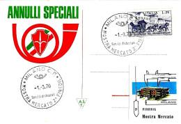 ITALIA - 1970 MILANO 2^ Mostra Finedil (finiture Per L'edilizia) - Vacanze & Turismo