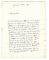 Claude Ambroise Régnier (1736 - 1814) LAS Duc De MASSA GRAND JUGE MINISTRE DE LA JUSTICE DE NAPOLEON A MACDONALD - Autogramme & Autographen