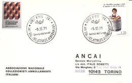 ITALIA - 1971 RIMINI (FO) XXI Salone Internazionale Attrezzatura Alberghiera - Settore Alberghiero & Ristorazione