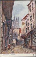Mercery Lane, Canterbury, Kent, C.1905 - Tuck's Oilette Postcard - Canterbury
