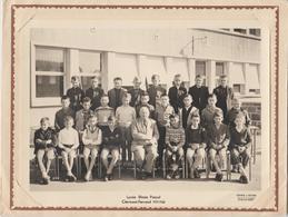 Photo De Classe.  LYCEE BLAISE PASCAL  CLERMONT-FERRAND . 63. PUY DE DOME 1959-1960 - Fotografia