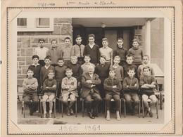 Photo De Classe.  LYCEE BLAISE PASCAL  CLERMONT-FERRAND . 63. PUY DE DOME 1960-1961 - Fotografia