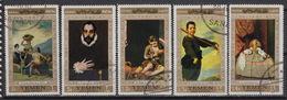 YEMEN (republic) : 189 + Air 79 (0) – Paintings : Goya, Greco, Velasquez Etc… (1967) - Yémen