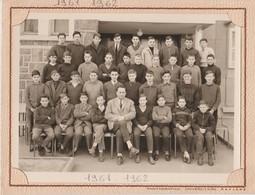 Photo De Classe.  LYCEE BLAISE PASCAL  CLERMONT-FERRAND . 63. PUY DE DOME 1961-1962 - Fotografia