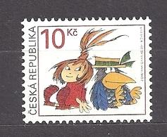 Czech Republic 2011 MNH ** Mi 685 Sc 3502 The Little Witch. Tschechische Republik. - Czech Republic