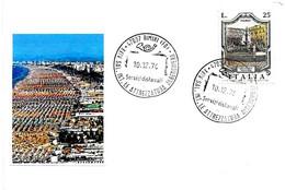 ITALIA - 1974 RIMINI (FO) XXIV Salone Internazionale Attrezzatura Alberghiera - Settore Alberghiero & Ristorazione