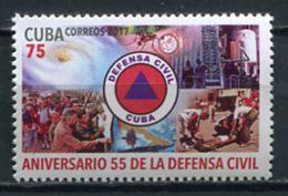 Cuba 2017 / Civil Defense MNH Defensa Civil / Cu5115  40-9 - Cuba