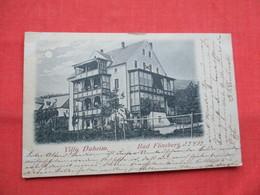 Villa Daheim Bad Flinsberg  Stamp   & Cancel  Ref  3483 - Polen