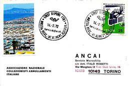 ITALIA - 1972 RIMINI (FO) Mostra Mercato Alimentazione Alberghiera - Settore Alberghiero & Ristorazione