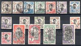 INDOCHINE - YT N° 41 à 58 (sauf 57) - Cote: 222,00 € - Indochina (1889-1945)
