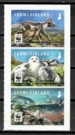 Finland 2018 Finlandia / WWF Birds Fishes Mammals MNH Aves Peces Mamíferos Vögel Säugetiere Fische / Cu10428  40-11 - Pájaros