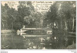 02 CHATEAU DE MARCHAIS. Passerelle Du Parc 1907 - Autres Communes