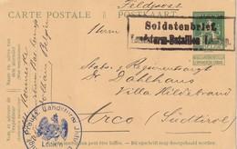 1915  ENTIER POSTAL/GANZSACHE/POSTAL STATIONERY  BELGE CARTE SOLDATENBRIEF - Occupation 1914-18
