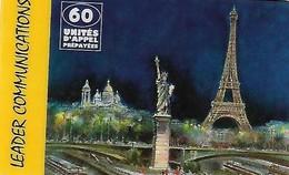 USATA- FRANCIA -CARTA PREPAGATA-LEADER COMMUNICATIONS - France
