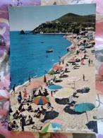 Piombino Salivoli Spiaggia Animata VIAGGIATA Anni 50 - Italia