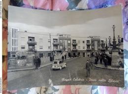Reggio Calabria Ponte Della Libertà Animata VIAGGIATA Anni 50 - Reggio Calabria