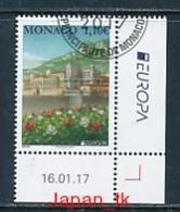 """MONACO Mi.Nr.  3347   EUROPA CEPT """"  Burgen Und Schlösser """" 2017 - Used - 2017"""