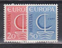 Switzerland, 1966, Europa CEPT, 2 Stamps - Europa-CEPT