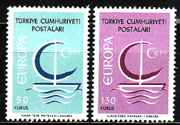 Turkey, 1966, Europa CEPT, 2 Stamps - Europa-CEPT