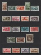GERMANY SARRE 1935 PLEBISCITE Nº 173/188 + AIR MAIL 5/8 - 1920-35 Saargebied -onder Volkenbond