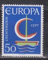 Lichtenstein, 1966, Europa CEPT, 1 Stamp - Europa-CEPT