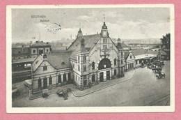 Polska - Polen - Pologne - BEUTHEN - Bahnhof - Gare - Feldpost - Guerre 14/18 - Schlesien