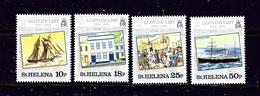 St Helena 412-15 MNH 1984 Lloyds List - Saint Helena Island