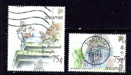 Singapore 592-93 Used 1991 Partial Set - Singapore (1959-...)