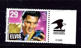 U.S. 2724 MNH 1993 Elvin Presley - United States