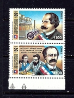 Chile 969a MNH 1991 Pair - Chile