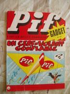 PIF GADGET NO 124-07/1971- CORTO MALTESE-LOUP NOIR-LES 5 AS-PUB CORGI TOYS SM-ED.VAILLANT - Pif Gadget