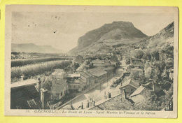 * Grenoble (Dép 38 - Isère - France) * (Edition Martinotto, Nr 36) La Route De Lyon, Saint Martin Le Vinoux Et Néron - Grenoble