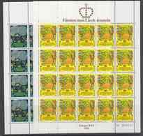 Europa Cept 1981 Liechtenstein 2v 2 Sheetlets ** Mnh (F7892) - 1981