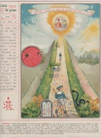 Image - Religieuse - 1912 -  290X225 - LA GRÂCE - L'Etat De Grâce Est ... - Santini