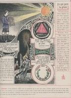 Image - Religieuse - 1912 -  290X225 - LA GRÂCE - Ce Qui Perd La Grâce. - Santini