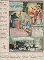 Image - Religieuse - 1912 -  290X225 - LA GRÂCE - Avec La Grâce. - Santini