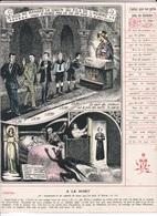Image - Religieuse - 1912 -  290X225 - LA GRÂCE - Celui Qui Ne Prie Pas Se Damne. - Santini