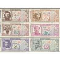 TWN - ROYLLO (private Issue) - 1-2-5-10-20-50 Pesos 2017 Set Of 6 UNC - Banknotes