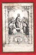 Image Pieuse - 1864 - Editeur L.J.Hallez  INV - F. Ludy S.C. - Devotieprenten