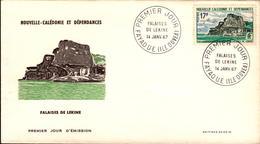 Nouvelle Calédonie FDC N° 336 14 Janvier 1967 - FDC