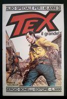 1988 - TEX - Albo Speciale Per I 40 Anni  CG - Tex