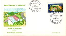 Nouvelle Calédonie FDC N° 337 338 5 Juin 1967 - FDC