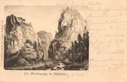 HOLLENTHAL GERMANY~HIRSCHSPRUNG-CARL ZANGER 1902 PHOTO POSTCARD 41081 - Höllental