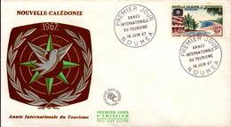 Nouvelle Calédonie FDC N° 339 19 Juin 1967 - FDC